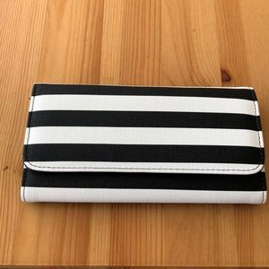Cute Slim Striped Wallet